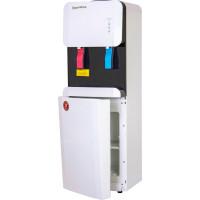 Кулер для воды Aqua Work 105-LKR бело-черный со шкафчиком без охлаждения