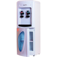 Кулер для воды Aqua Work 0.7-LDR белый со шкафчиком электронный