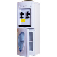 Кулер для воды Aqua Work 0.7-L белый со шкафчиком компрессорный